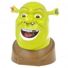 Funny Shrek Brain Buster Game Talking Head Toy Game of Skill (3 x AA)