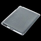 Protective TPU Back Case for iPad 2 - Transparent