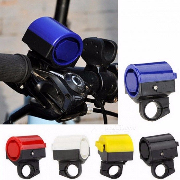 Color Car Tweeters Electric Bike Bell Bicycle Bell Sound Booster Car Alarm  Sound Black