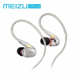 Meizu Live Earphone, Quad-Driver Knowles Balanced Armature HiFi Wired In-Ear Earbuds 3.5mm Headset - Original Package