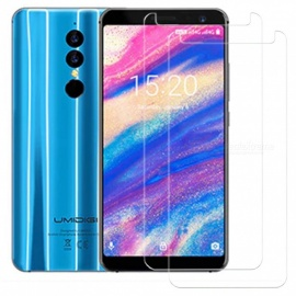 2pcs Tempered Glass Screen Films 2.5D Arc Edge for Umidigi A1 Pro
