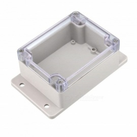BTOOMET 2Pcs 115 x 90 x 55mm Electronic ABS Plastic DIY Junction Box Enclosure Case with Fixed Mount