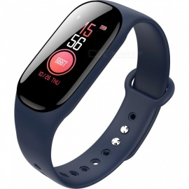 Color Screen B40 Bluetooth Smart Bracelet / Heart Rate / Blood Pressure / Blood Oxygen / Fatigue Monitoring / Health APP - Blue