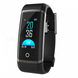 Z19C Color Screen IP67 Waterproof Smart Bracelet Fitness Tracker - Black