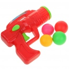 Plastic Ping Pong Ball Gun - Red + Green