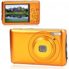 "DC660 5.0MP CMOS Compact Digital Video Camera with 8X Digital Zoom/USB/SD - Orange (2.7"" TFT LCD)"