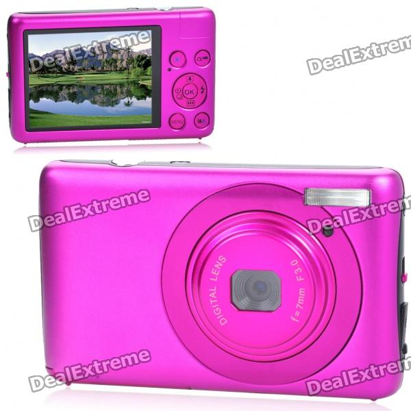 "DC660 5.0MP CMOS Compact Digital Video Camera with 8X Digital Zoom/USB/SD (2.7"" TFT LCD)"