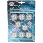 Universal LED Blue Side Marker Lights for Car (DC 12V/8-Pack)