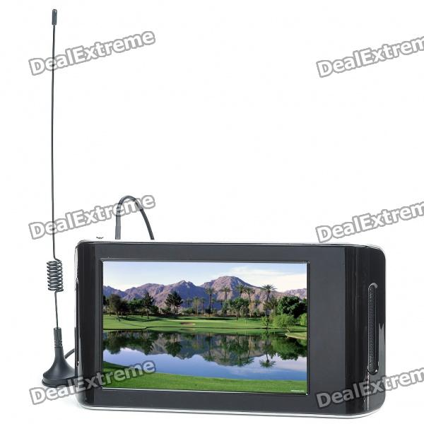 "7 ""Портативный очки бесплатный 3D DVB-T ТВ Multi-Media Player ж / 2GB SD Card / AV-Out / Mini USB (800x480px)"