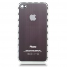 Replacement Electroplate Battery Back Cover for Apple iPhone 4 - Random Color