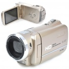 "HD 720P 5.1MP CMOS Digital Video Camcorder w/ MP3/8X Digital Zoom/HDMI/AV/SD/Mini USB (3.0"" LCD)"