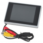 "35A 3.5"" TFT LCD Digital Monitor for Vehicle Parking Reverse Camera (960x240/12V DC)"