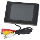 "35B 3.5"" TFT LCD Digital Monitor for Vehicle Parking Reverse Camera (960x240/12V DC)"
