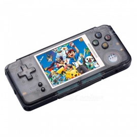 Portable Video Handheld Game Console with 3 Inches Screen, Built-in 3000 Video Games, 16GB Memory - Black