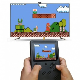 Handheld Game Console 3 Inch 300 Games Retro FC Game Player Classic Game Console Presents for Children