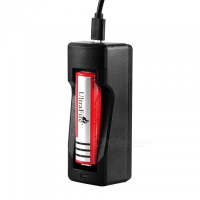 MICRO 5PIN RCR123 18650 USB Battery Charger
