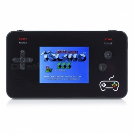 Y-6 Game Mobile Power Mini Portable Handheld Game Player Console Built-in 188 Classic Games - Black