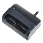 USB Charging Dock Cradle + Car Charger Set for HTC Desire HD (12-24V)