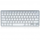 USB Rechargeable 81-Key Ultra-Slim Portable Bluetooth V2.0 Wireless Keyboard