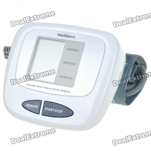 "Fully Automatic Upper Arm Style 2.5"" LCD Digital Blood Pressure Monitor (4xAA)"