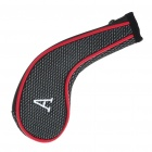 Golf Club Putter Head Cover Case - Red + Grey (10-Pack)