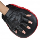 Glove-on Curved Punching Mitt for Boxing and Martial Arts Training - Color Assorted