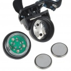 Mini Waterproof 5-LED White Light Headlamp with Clip (2 x CR2032)