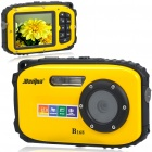 B168 Waterproof 5.0MP CMOS Compact Digital Camera w/ 8X Digital Zoom/TF Slot/Mini USB (2.7