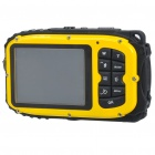 "B168 Waterproof 5.0MP CMOS Compact Digital Camera w/ 8X Digital Zoom/TF Slot/Mini USB (2.7"" TFT LCD)"