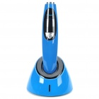 "1.2"" LCD 5W Wireless Dental LED Curing Light Lamp Set - Blue + Black"
