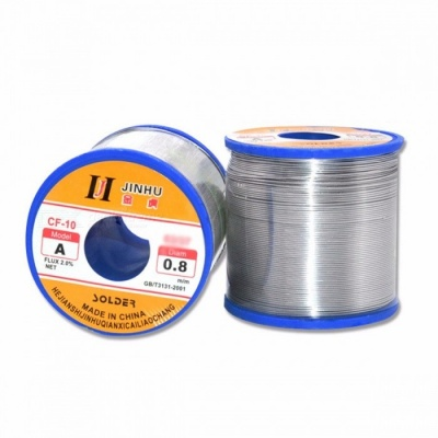 High Quality 500g Rosin Core Tin Lead Solder Wire, Soldering Welding Flux Iron Wire Reel 0.6mm