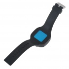 Fashion Sporty Silicone Quartz Wrist Watch - Black (1*377)