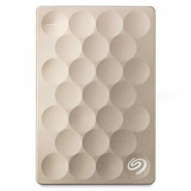 "Seagate STEH1000301 Backup Plus 2.5"" Ultra Slim 1TB SSD (Gold)"