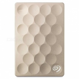 "Seagate STEH2000301 Backup Plus 2.5"" Ultra Slim 2TB SSD (Gold)"