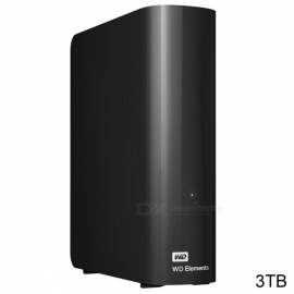 "WD WDBBKG0030HBK 3,5"" -element USB3.0 3TB SSD"