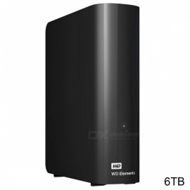 "WD WDBBKG0060HBK 3.5"" Elements USB3.0 6TB SSD"