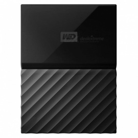 "WD WDBS4B0020BBK 2.5"" My Passport USB3.0 2TB SSD - Black"