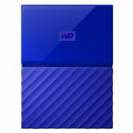 "WD WDBS4B0020BBL 2.5"" My Passport USB3.0 2TB SSD - Blue"