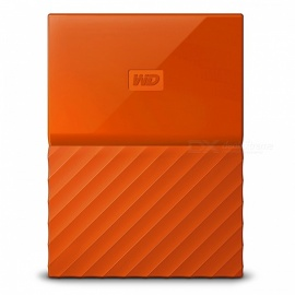 "WD WDBS4B0020BOR 2,5"" mitt pass USB3.0 2TB SSD - orange"