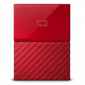 "WD WDBS4B0020BRD 2.5"" My Passport USB3.0 2TB SSD - Red"