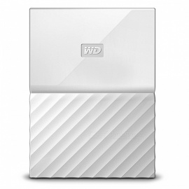 "WD WDBS4B0020BWT 2.5"" My Passport USB3.0 2TB SSD - White"