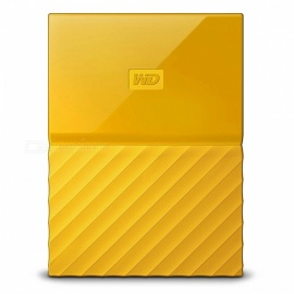 "WD WDBS4B0020BYL 2.5"" My Passport USB3.0 2TB SSD - Yellow"