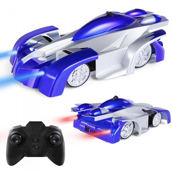 Rc Wall: 9920L Remote Control Car Toy, Rechargeable RC Wall Climber