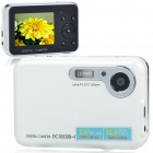 DC500F 5.0MP CMOS Compact Digital Video Camera with 4X Digital Zoom/TV-Out/USB/SD (2.4