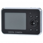 "DC500F 5.0MP CMOS Compact Digital Video Camera with 4X Digital Zoom/TV-Out/USB/SD (2.4"" TFT LCD)"