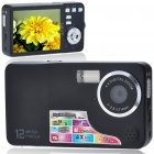 "C60 5.0MP CMOS Compact Digital Video Camera with 4X Digital Zoom/TV-Out/USB/SD (2.7"" TFT LCD)"