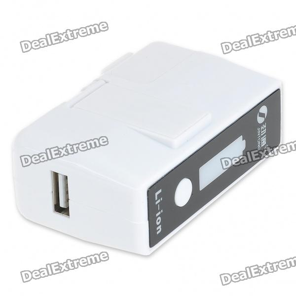 2400mAh External Battery Charger + EU Adapter Charging/Data Cable for HTC Desire/G5/Samsung i9000