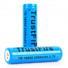 TrustFire Protected 18650 Lithium Battery (2500mAh 2-Pack Blue)
