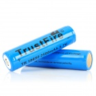 TrustFire Protected 18650 Lithium Battery (2300mAh 2-Pack Blue)