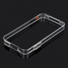 0.4mm Ultrathin Protective Bumper Frame Case + Full Body Guard + Cloth + Stand for Iphone 4